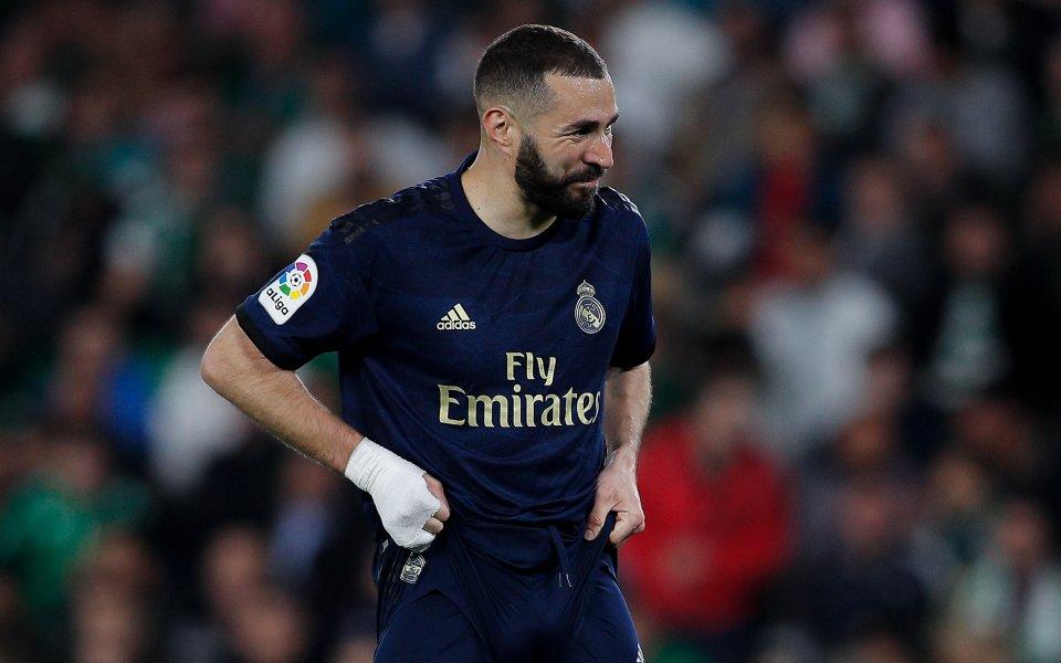 Звездата на испанския шампион Реал Мадрид Карим Бензема не оцени