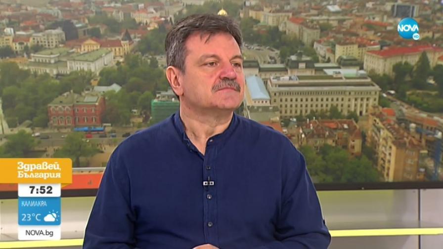 Д-р Симидчиев: Голяма част от българите имат имунитет заради родствен на COVID-19 вирус