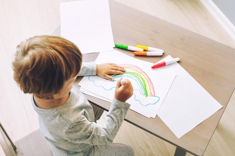 Как би изглеждал светът, ако детските рисунки бяха реалност