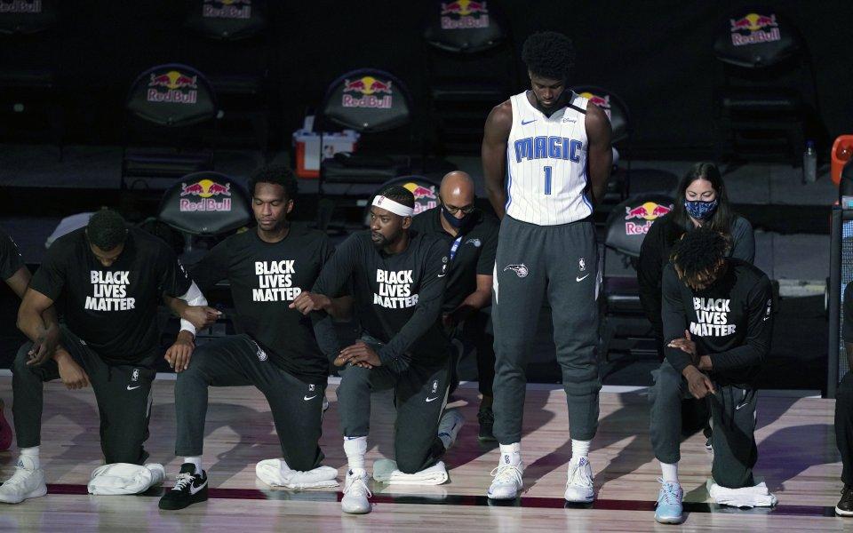 В изминалата нощ феновете на баскетбола в САЩ станаха свидетели