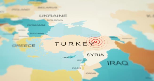 Свят Силно земетресение в Югоизточна Турция Трус от 5,2 е