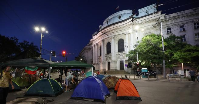 България Внесоха жалба заради блокираните кръстовища в София