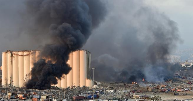 Свят Кой ще възстановява Ливан след взрива Взривът е унищожителна