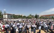 Протестиращи се опитаха да блокират достъпа до конференцията на ГЕРБ