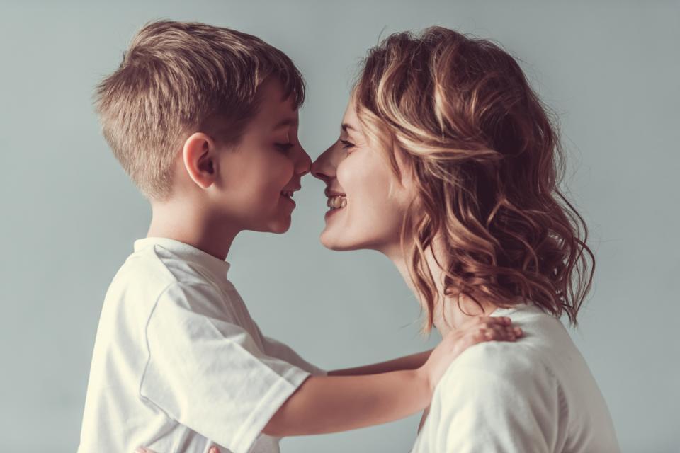 майка дете син момче