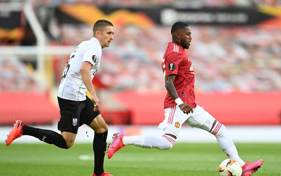 Шампионът от 2017 година Манчестър Юнайтед иавстрлийския ЛАСК Линц играят