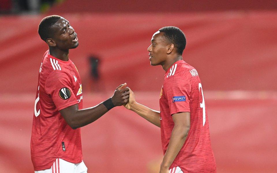 Шампионът от 2017 година Манчестър Юнайтед елиминира австрийския ЛАСК Линц