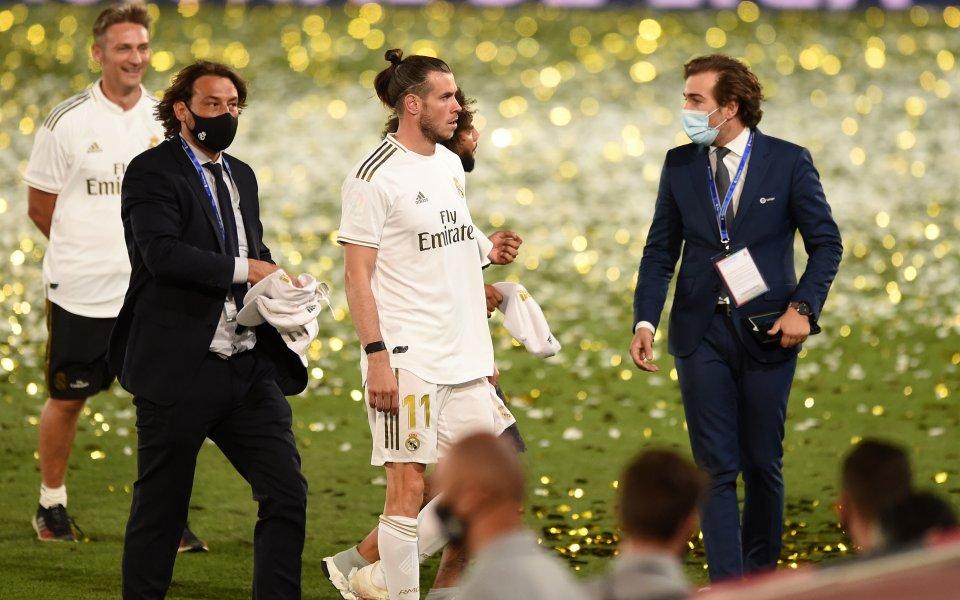 Наставникът на Реал Мадрид Зинедин Зидан шокира футболната общественост, заявявайки,