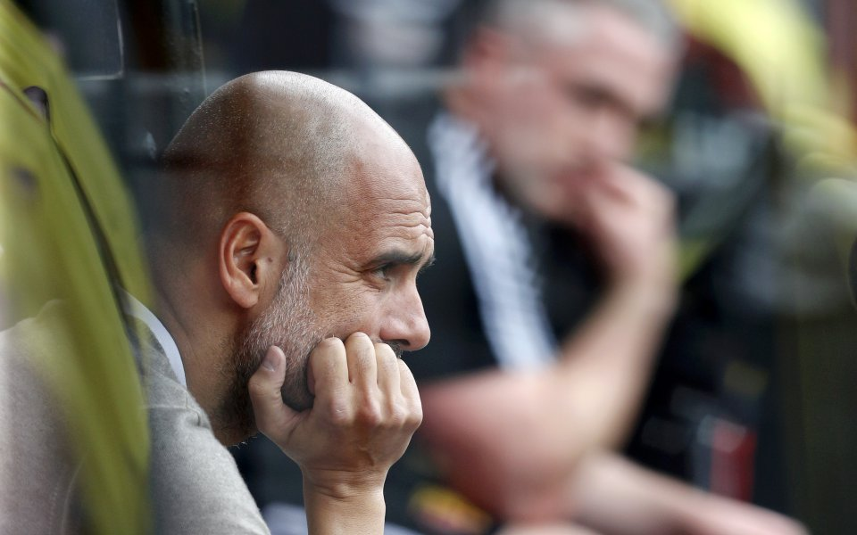 """Мениджърът на Манчестър Сити Пеп Гуардиола сподели, че """"гражданите"""" трябва"""