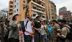 Антиправителствени протести в Бейрут, Ливан