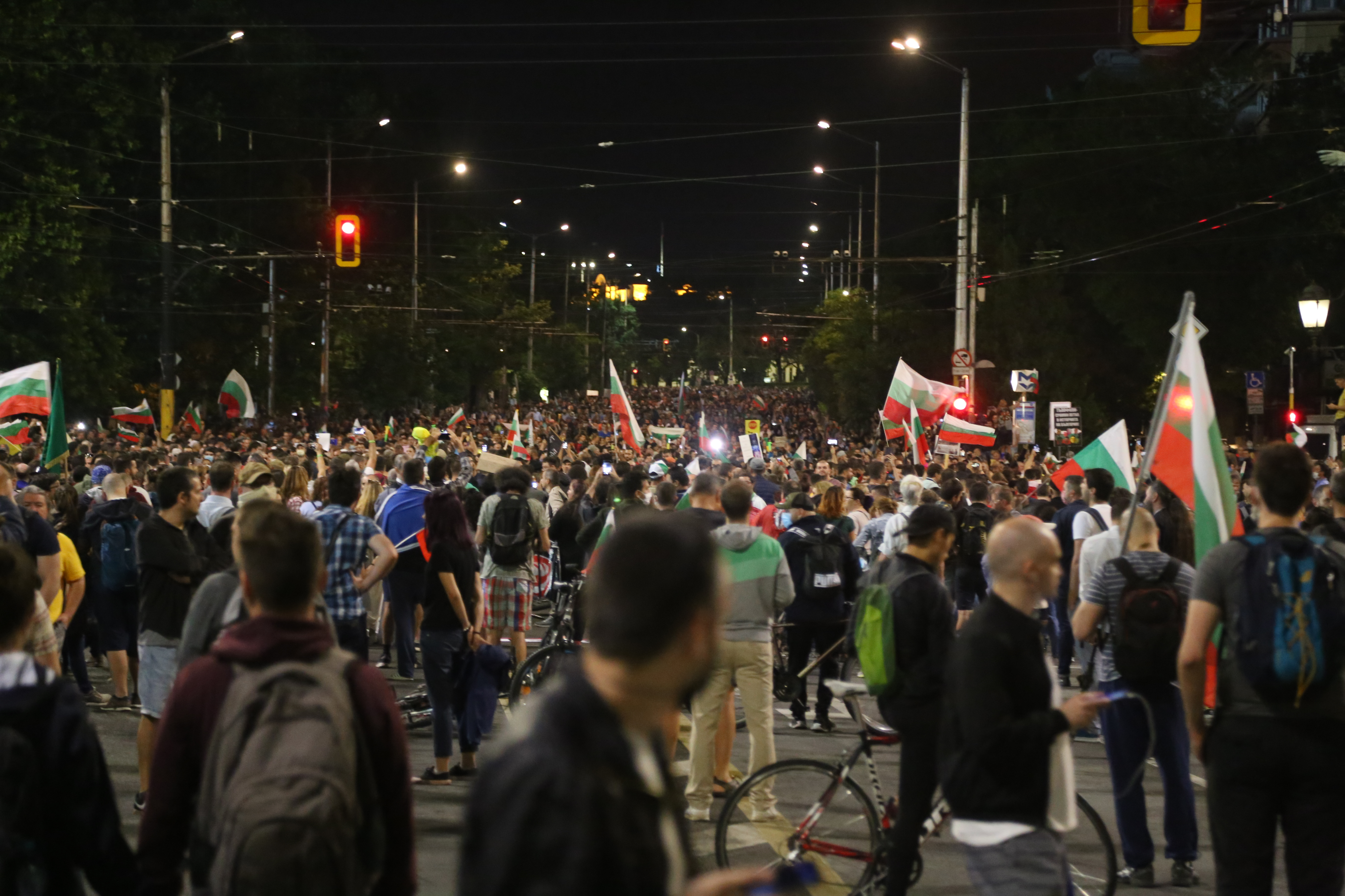 <p>Как протича 30-ят ден на протест в София</p>