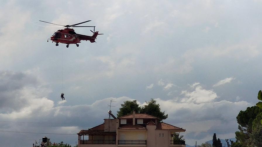 Наводнение на гръцки остров, има загинали