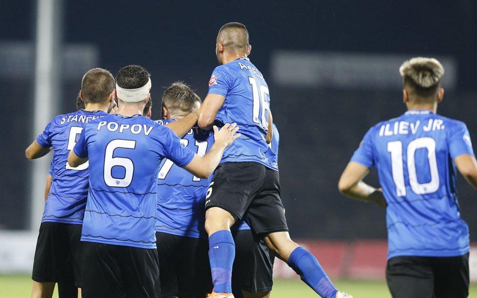 Черно море победи Черноморец Балчик с 3:0 в контролна среща,