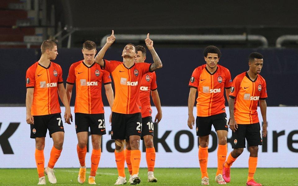 Отборите на Шахтьор Донецк и Базел игрят при резултат 4:1в