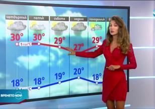 Прогноза за времето (12.08.2020 - централна емисия)