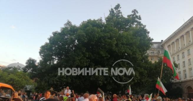 България 36-та вечер протести в София, блокада в Русе към