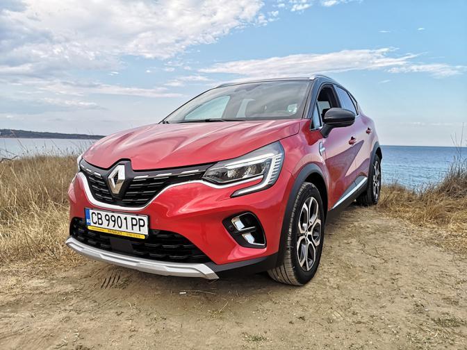 Renault Captur LPG галерия