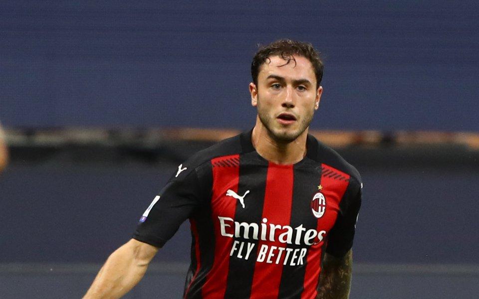 Каляри е в напреднали преговори за защитника на Милан Давиде