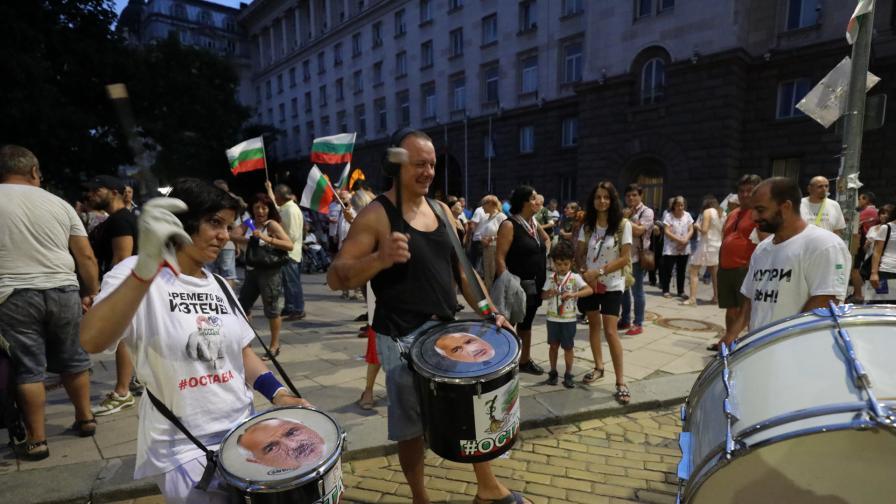 55 дни антиправителствени протести