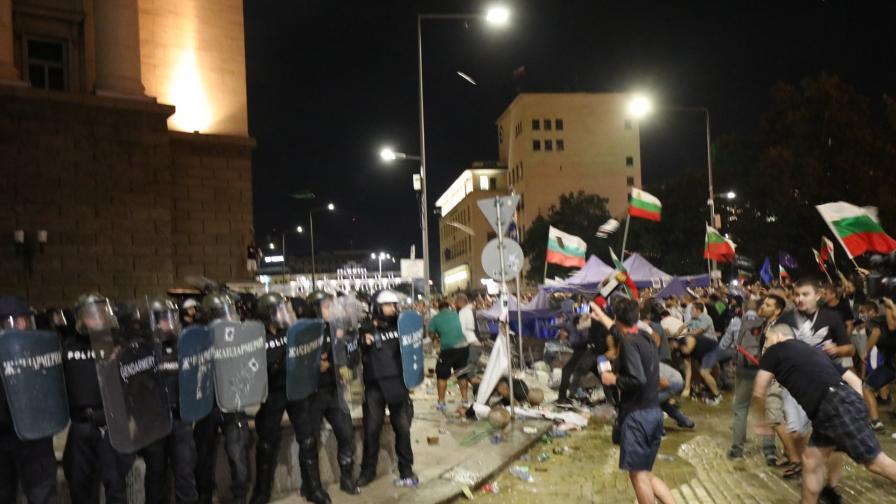 Марковски - кога може да се намесва полиция при протест