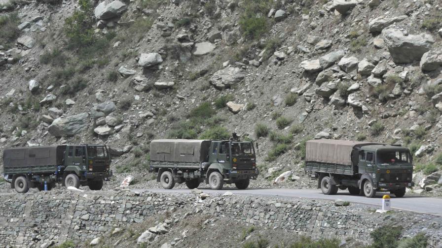 Изстрели на индийско-китайската граница за първи път от 50 години
