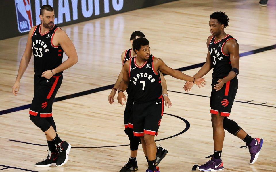 Кралят е жив! Торонто се измъкна след адски мач с Бостън