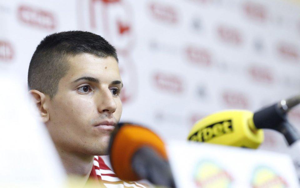 Дани Наумов: Винаги е чест да играя за България, шансовете за Евро 2021 са налице