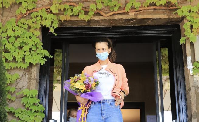 Цвети Пиронкова с емоционални думи на родна земя