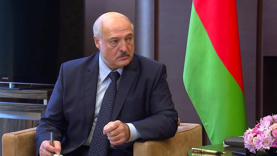 ЕС въведе санкции срещу Лукашенко