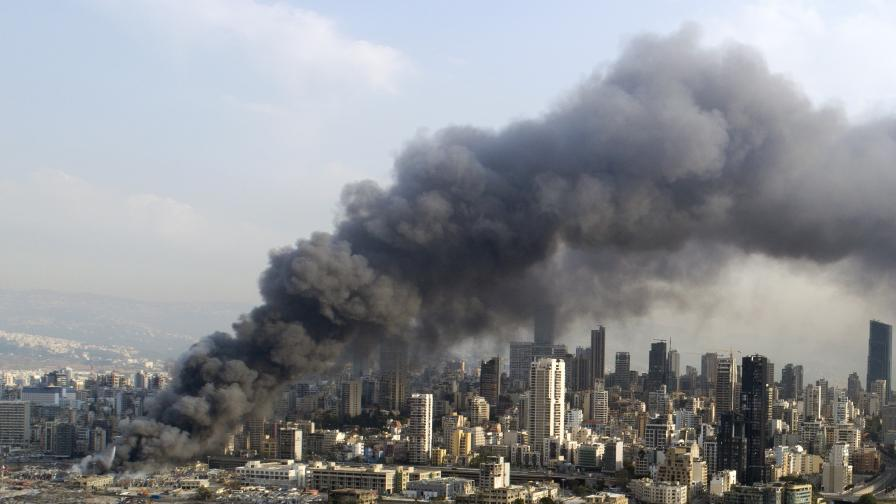 Пореден пожар в Бейрут разтревожи жителите на града