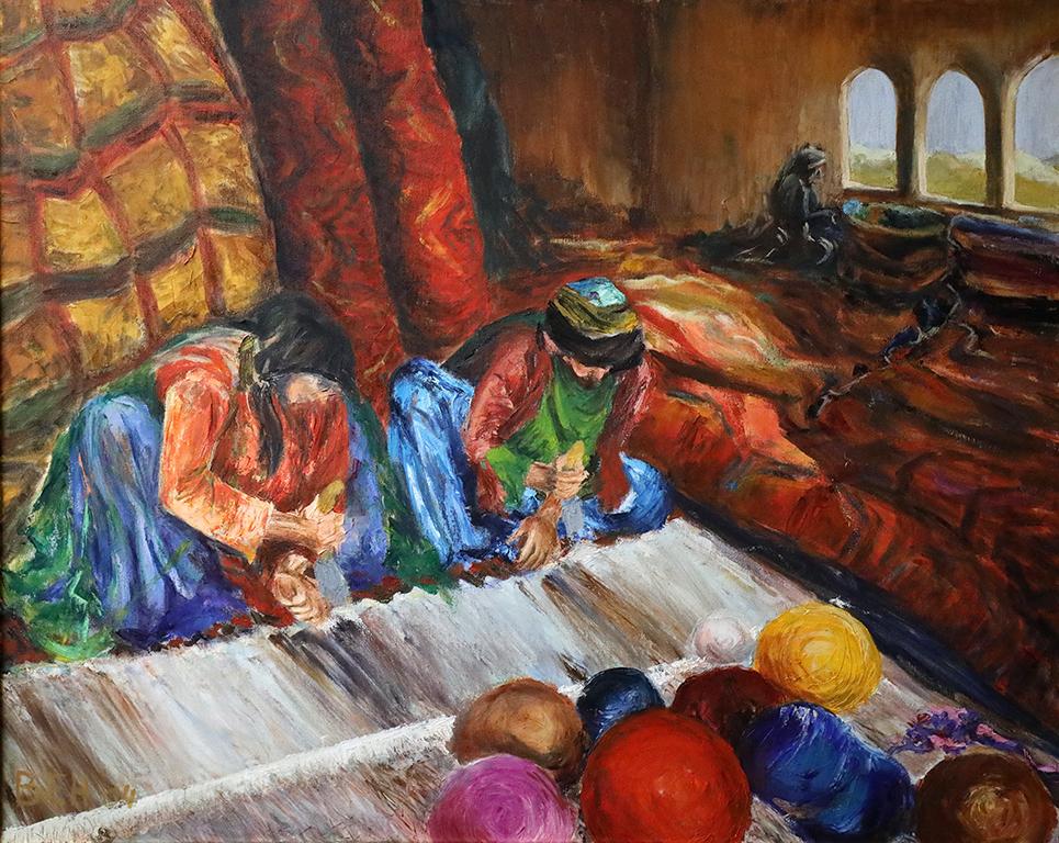 <p>Тъкачки на Персийски килими /м.б.пл./</p>