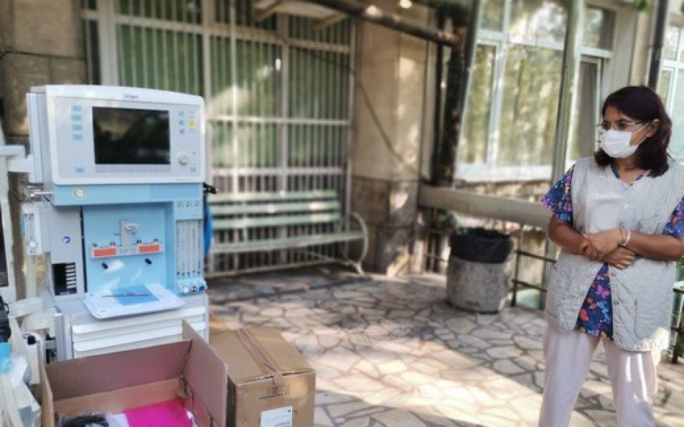 Семейство Домусчиеви дари оборудване на болницата в Ловеч