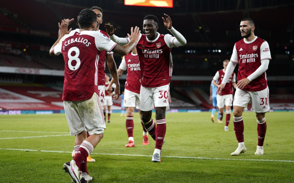Арсенал спечели второ поредно лондонско дерби от началото на новата