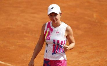 Симона Халеп се класира на финала в Рим след драма срещу Мугуруса