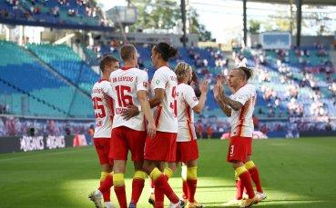 Лежерен Лайпциг записа първа домакинска победа от февруари