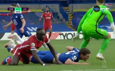 Челси - Ливърпул 0:0 /първо полувреме/