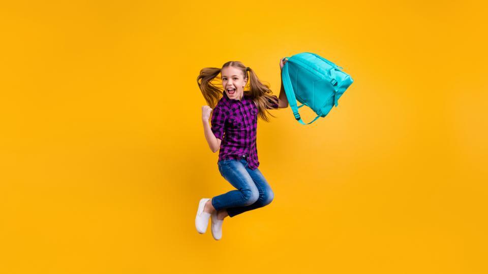 училище чанта раница