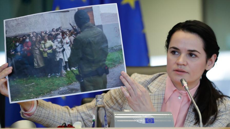 <p>Тихановска: Повече няма да бъдем заложници на Лукашенко</p>