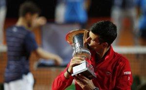 Джокович отново покори Рим и записа исторически рекорд