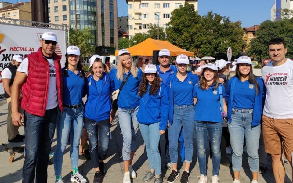 Женският волейболен шампион на България Марица (Пловдив) отново се включи