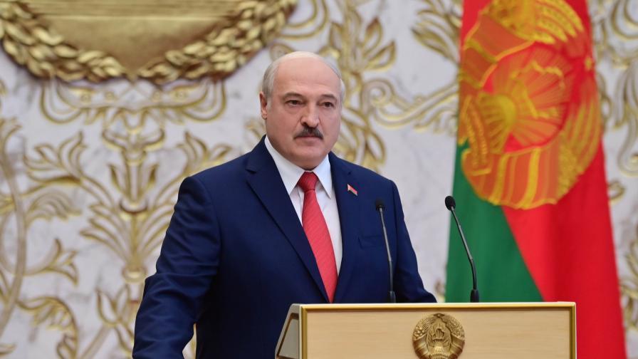 Лукашенко положи тайно клетва като президент