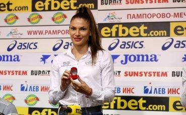 Габи Петрова е спортист №1 на август