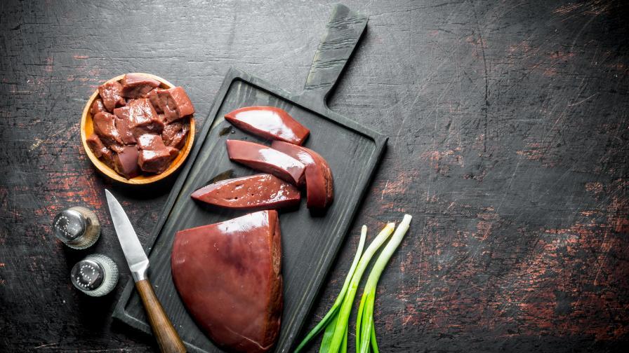 Вкусна идея за обяд: Телешки дроб по венециански
