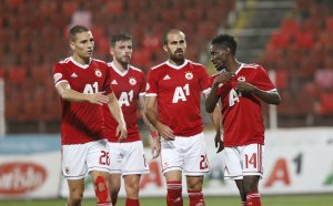 Хладнокръвен ЦСКА не позволи изненада и е на мач от групите на ЛЕ