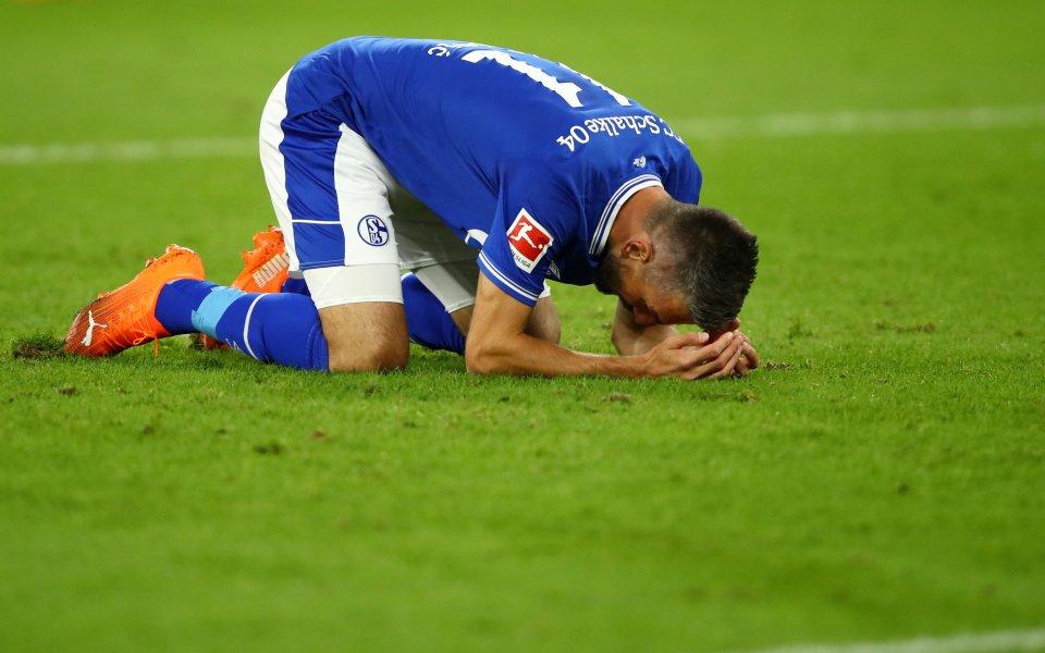 Седмица след ужасяващата си загуба с 0:8 отБайерн Мюнхенотборът наШалке
