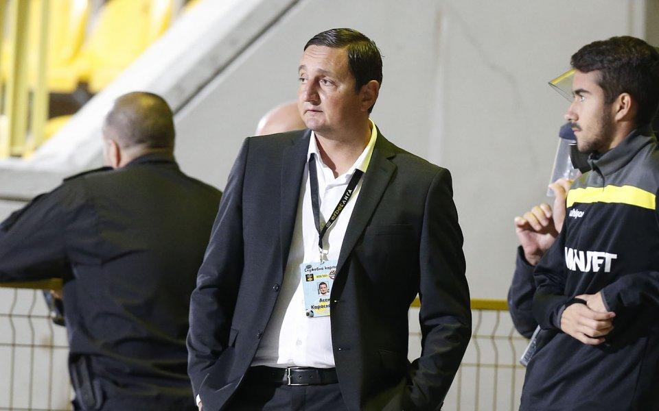 Шеф в Ботев Пд остава на работа в клуба