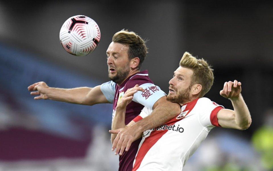 Саутхемптън спечели с минималното 1:0 гостуването на Бърнли в мач