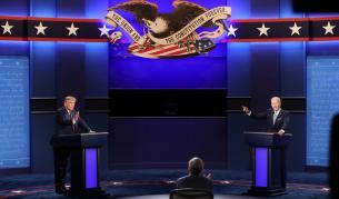 Дебатът между Тръмп и Байдън: хаос и скандали