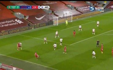 Ливърпул - Арсенал 0:0 /първо полувреме/
