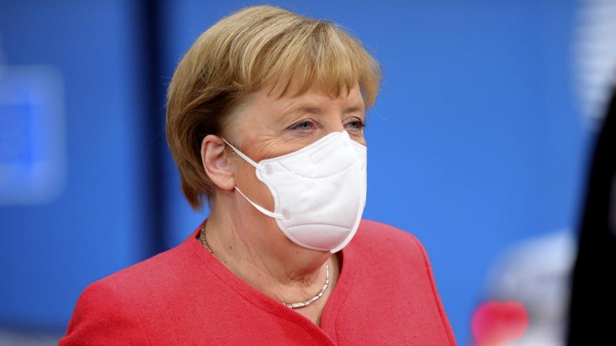 Какво ще стане, ако Меркел се зарази с коронавирус